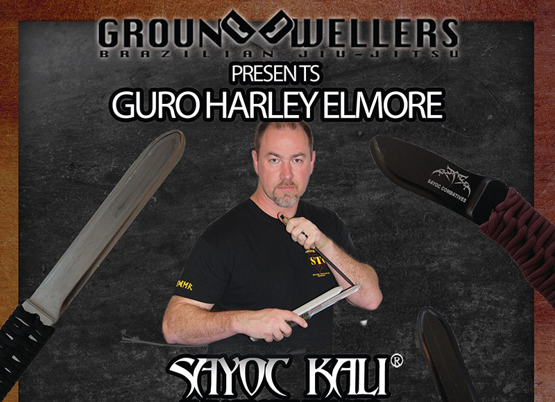 Ground Dwellers Sayoc Seminar - Guro Harley Elmore