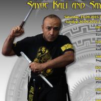 2015-09 Sayoc Seminar Guro Krishna Godhania