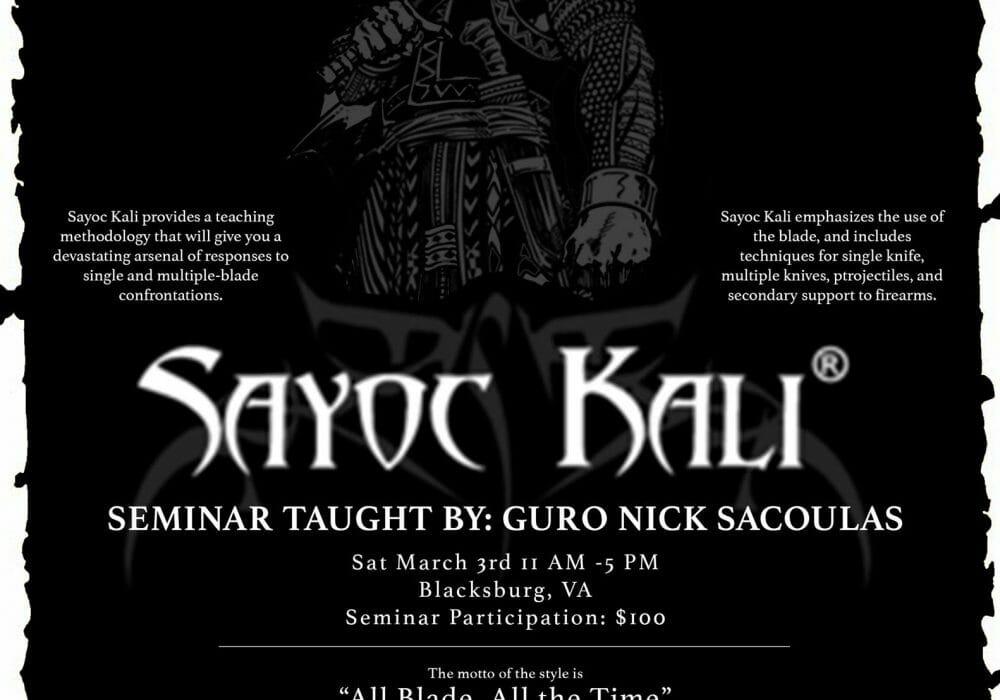 Sayoc Seminar: Antwerp, Belgium