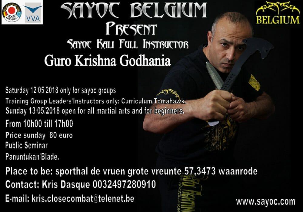 Sayoc Seminar: Athens, Greece