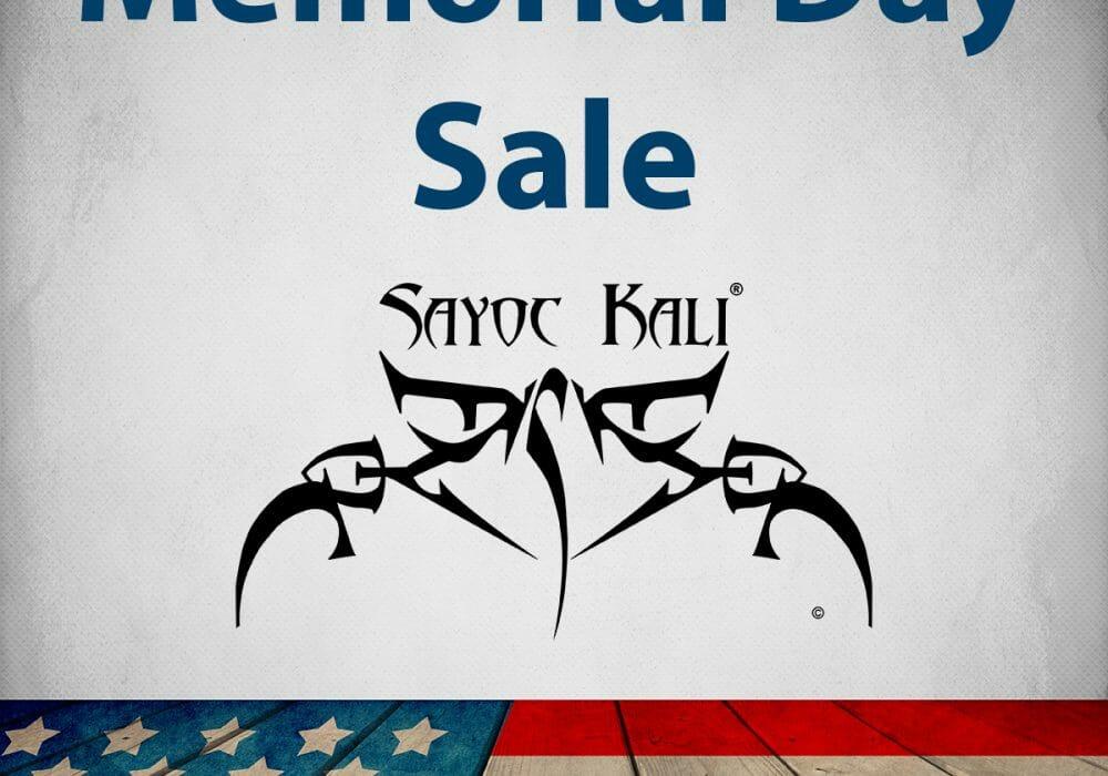 2018 Memorial Day Sale